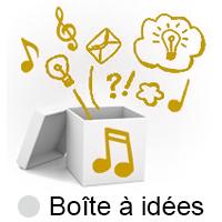 Nouveau site : la boite à idées !